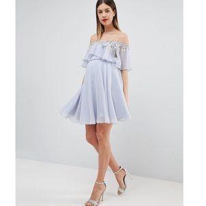 ASOS Embellished Skater Dress